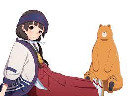 kuma miko meets bear wallpaper pack 1080p hd kuma miko