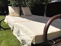 gardman somerset 3 seater swinging hammock bed heavy duty garden