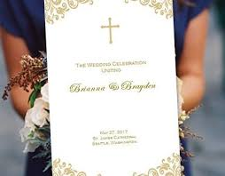 catholic wedding program maura co wedding ceremony wedding ceremony programs