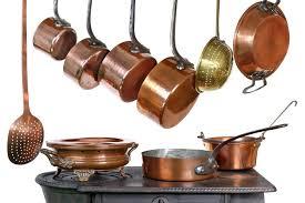 ustensiles de cuisine en cuivre papier peint casseroles et ustensiles de cuisine en cuivre pixers