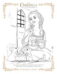 new disney u0027s cinderella coloring pages and activity sheets