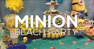 minions birthday party ideas minion birthday party with izzy sparkles party ideas