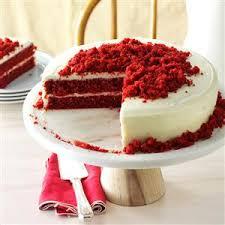 blue ribbon red velvet cake recipe taste of home