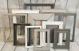 rustic wall decor farmhouse wall decor distressed frames