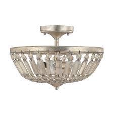 semi flush mount foyer light 3 light semi flush fixture capital lighting fixture company