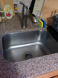 removing kitchen faucet replace kitchen faucet need to remove whole countertop granite