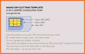sim card template sow template