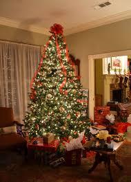 christmas tree living room decoration idea luxury top and