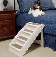 Dog Steps For High Beds Portable Folding Pet Steps Stairs Wood Foldable Dog Puppy Ramp 3