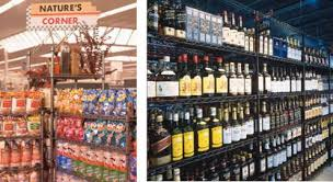 Liquor Store Shelving by Indoff Shelving Systems