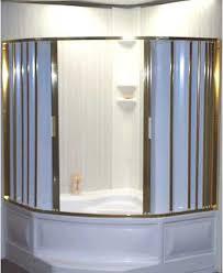 Folding Bathtub Doors Folding Accordion Tub And Shower Doors Retro Renovation