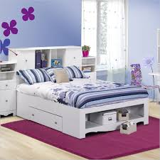 wood kids full bed frame with storage u2014 modern storage twin bed