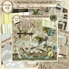 family tree scrapbook layout ideas heritage history and genealogy