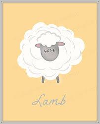 Sheep Nursery Decor Baby Print Sheep Print Sheep Nursery