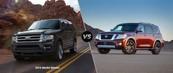 nissan armada best year 2017 ford expedition vs 2017 nissan armada