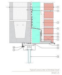 assembly 1a u0026 1b cmu wall with anchored masonry veneer