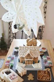 how to host your own gingerbread house decorating