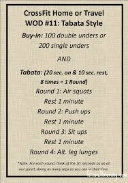 travel wods images Tabata tuesday crossfit home or travel wod 11 deliciously fit jpg