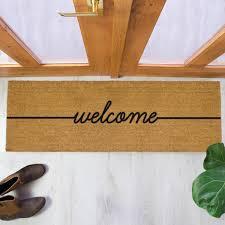 Patio Door Mat Welcome Patio Doormat 120x40cm Patio Door Mat