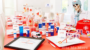 themed party supplies doctor theme party best theme party ideas
