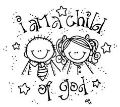 i am a child of god coloring page fleasondogs org