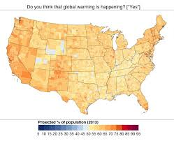 Us Climate Map What Do Americans Really Think About Climate Change