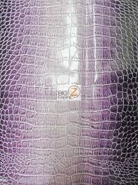 Alligator Upholstery Dragon Gator Upholstery Vinyl Fabric Winter Lilac By Yard 2