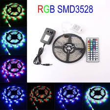 Led Color Changing Light Strips by Elcpark 5m 16 4ft Smd 3528 Rgb Changing Color Flexible Led Light
