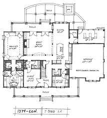 One Story Farmhouse Farmhouse Floor Plans One Story House On Open Concept Floor Plans
