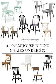 Farm House Dining Chairs 10 Farmhouse Dining Chairs 75 Designs