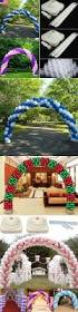 Wedding Arches On Ebay Balloons 26384 Large Floor Standing Diy Balloon Arch Kit For