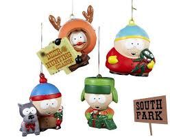 enfeites de natal south park de brinquedo