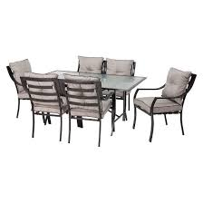 Patio Dining Furniture Lavallette 7 Piece Metal Patio Dining Furniture Set Target