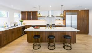 Contemporary Kitchen Pendant Lighting by Modern Kitchen Island Pendant Lights Brighten California Townhouse
