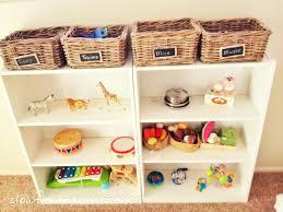 Montessori Bookshelves by Montessori Inspired Playroom Our Cone Zone