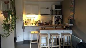 faire plan de cuisine ikea plan de table cuisine cuisine avec table en bois conforama plan de