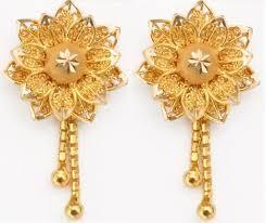 3 gram gold earrings myjewelbox