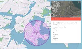 Boston Logan Airport Map Where Not To Fly A Drone In Boston U2013 The Official Hivemapper Blog