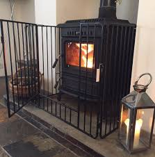 heavy duty deluxe stove fire guard fireguard screen fireside