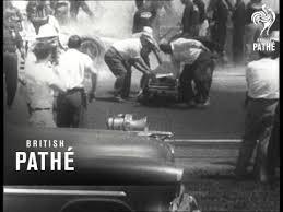 fatal crash at indianapolis car race 1958 youtube