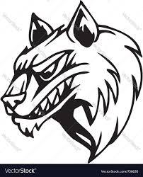 halloween vectors free wolf halloween set royalty free vector image