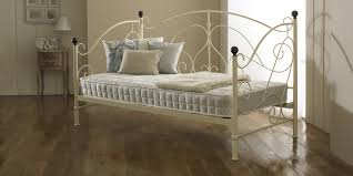 milano metal ivory day bed bedz online