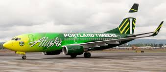 alaska airlines introduces the portland timbers logojet world airline news