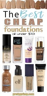 light foundation for dry skin drugstore foundations for under 10 that mean business drugstore