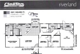 Mobile Home Floor Plans by Flooring Clayton Homes Floor Plans Williams Burg Square The