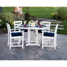 Recycled Plastic Patio Furniture Recycled Plastic Patio Dining Sets Hayneedle