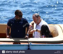 harvey weinstein arrive at the hotel du cap cap d u0027antibes stock