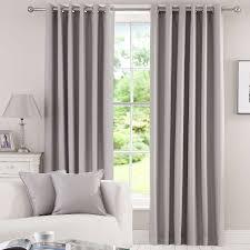 Grey Herringbone Curtains Grey Herringbone Blackout Eyelet Curtains Dunelm New