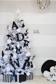 black and white christmas tree decorations 6668 christmas ideas