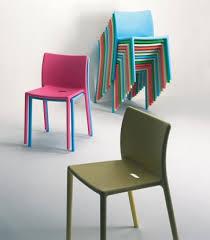 Air Armchair Design Ideas Magis Jasper Morrison Air Chairs Colours Orange Brick Fuchsia